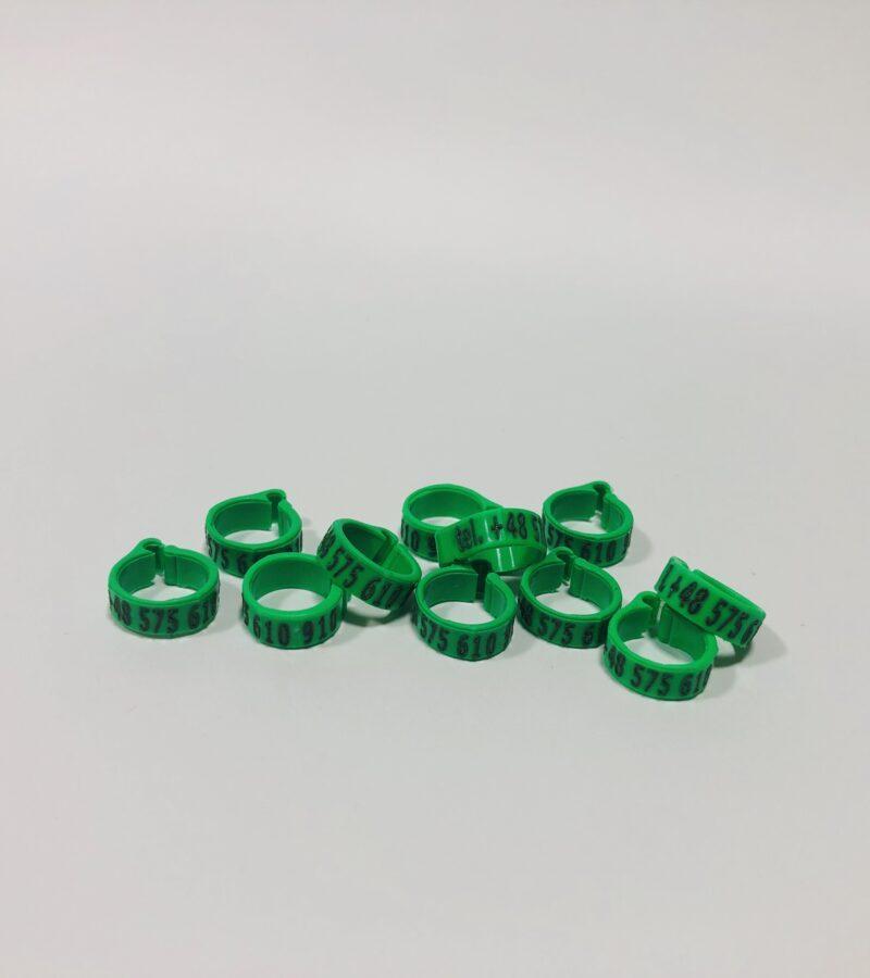 znaczniki dla golebi zielone 800x900