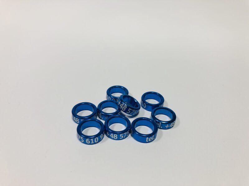 obraczki aluminiowe dla golebi niebieskie 800x600